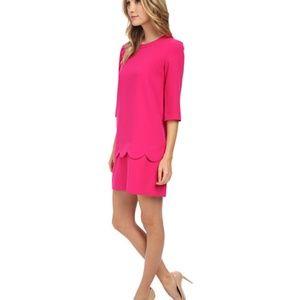 Kate Spade Pink Scalloped Demi Dress